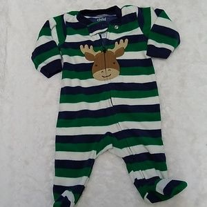 Carters Footed Pajamas -0-3 Months - BUNDLES ONLY